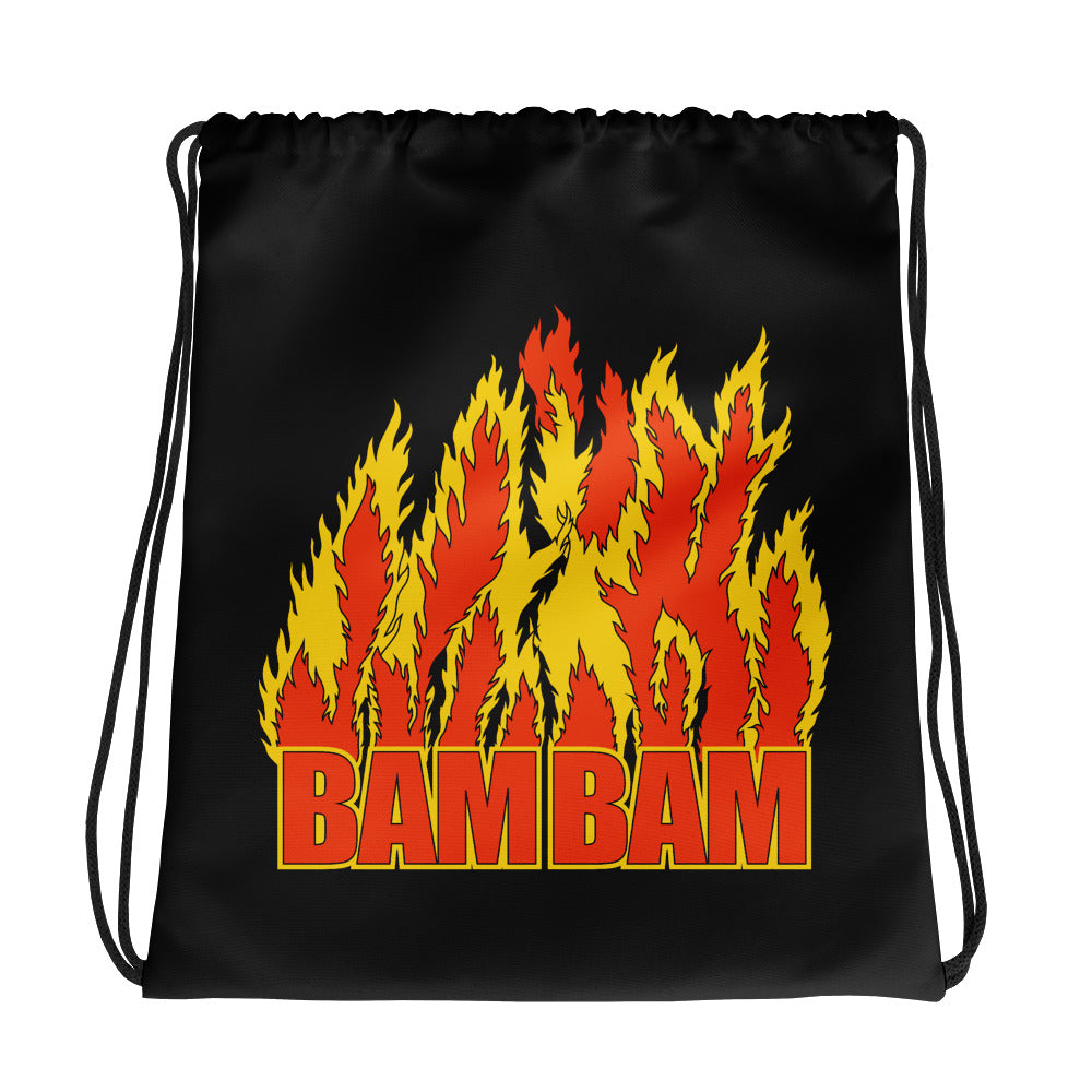 Bam Bam Bigelow Drawstring Bag