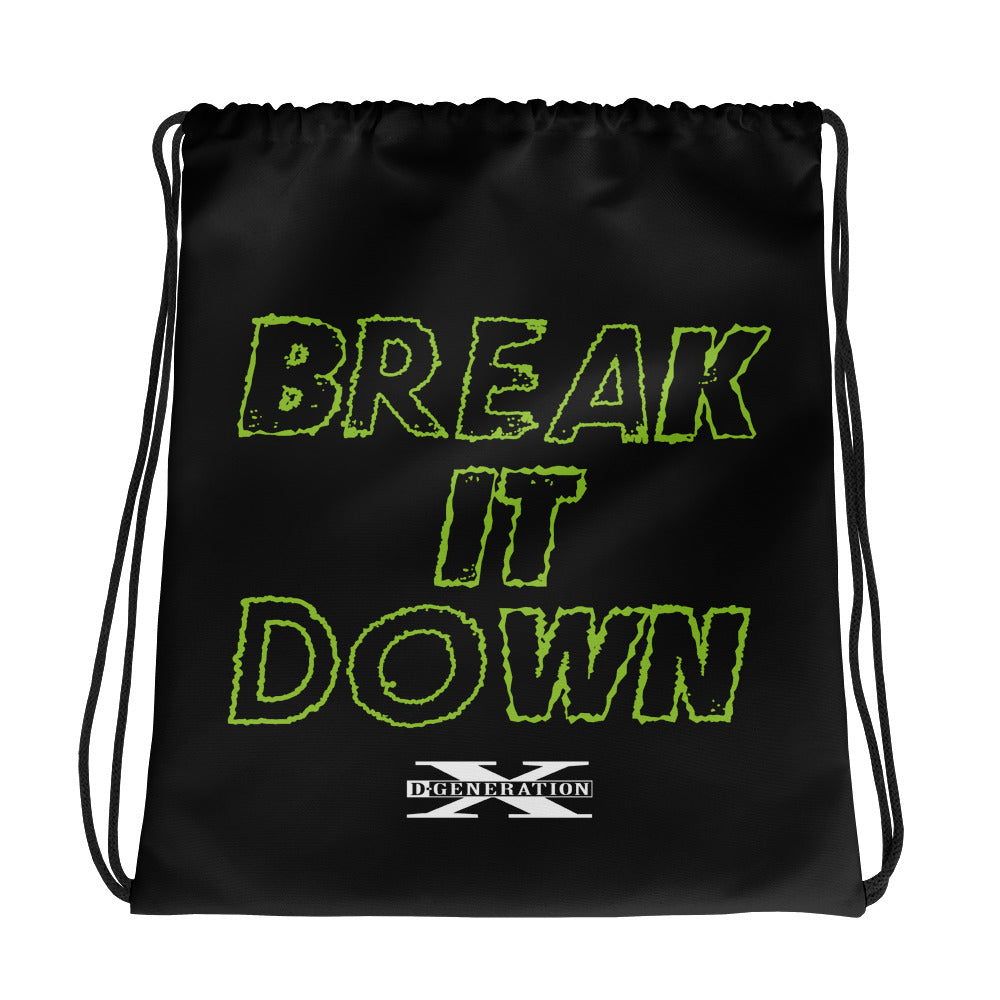 "D-Generation X ""Break It Down"" Drawstring bag"