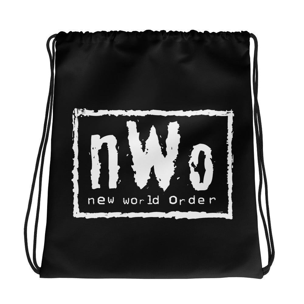 "nWo ""Black & White"" Drawstring Bag"