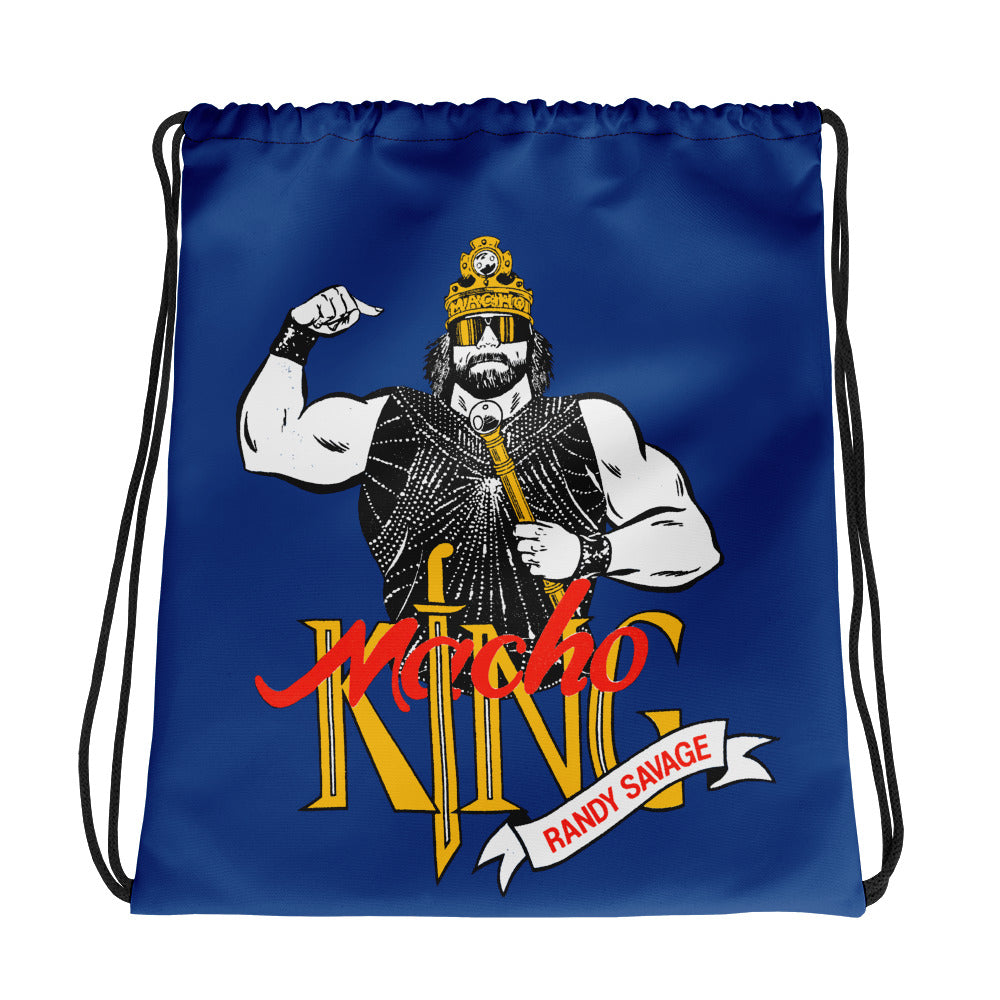 "Macho Man Randy Savage ""Macho King"" Drawstring Bag"