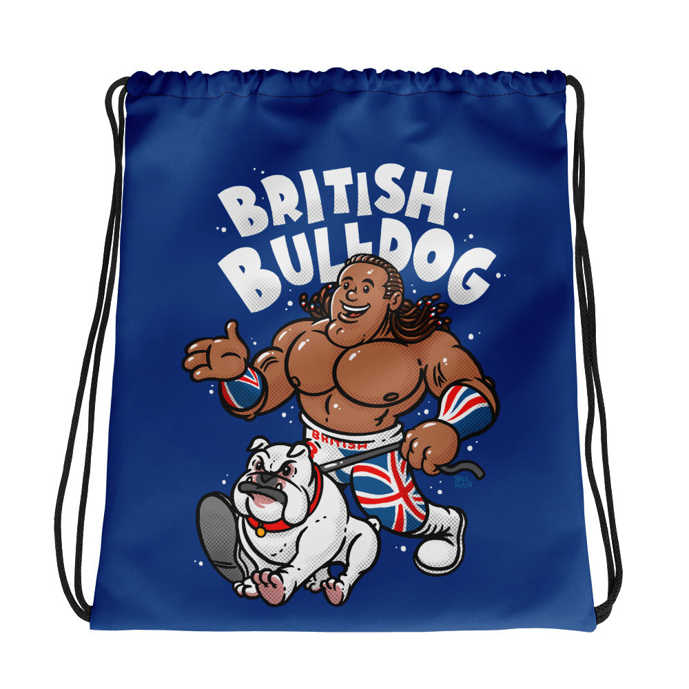 British Bulldog x Bill Main Drawstring Bag
