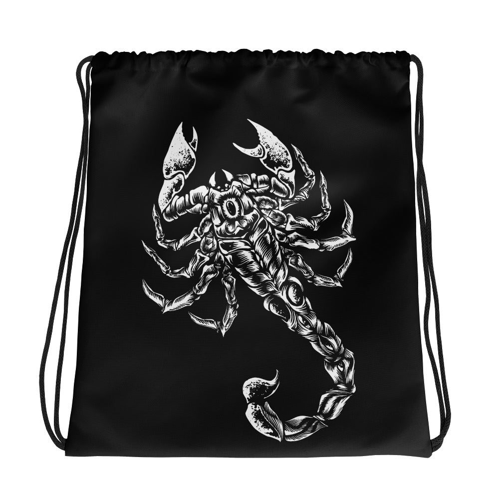 "Sting ""Scorpion"" Drawstring Bag"