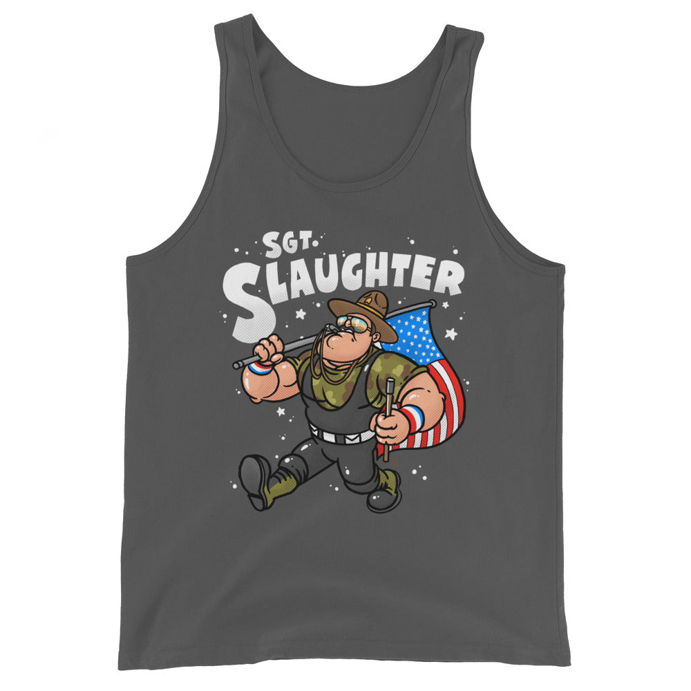 Sgt. Slaughter x Bill Main Superstar Tank Top