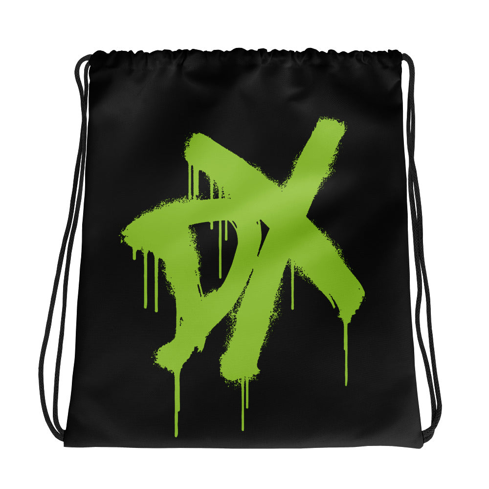"D-Generation X ""Spraypaint"" Drawstring Bag"