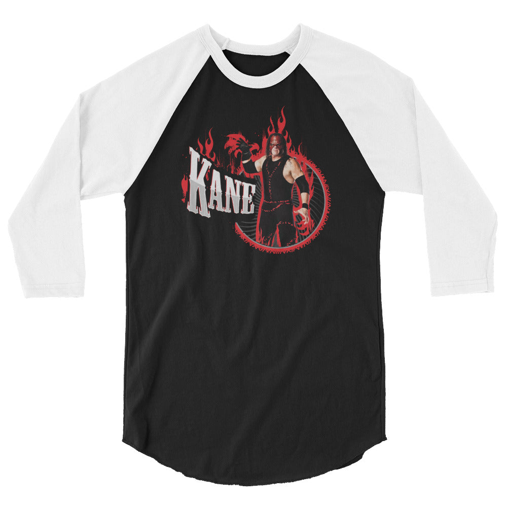 "Kane ""Big Red Machine"" 3/4 Sleeve Raglan Shirt"