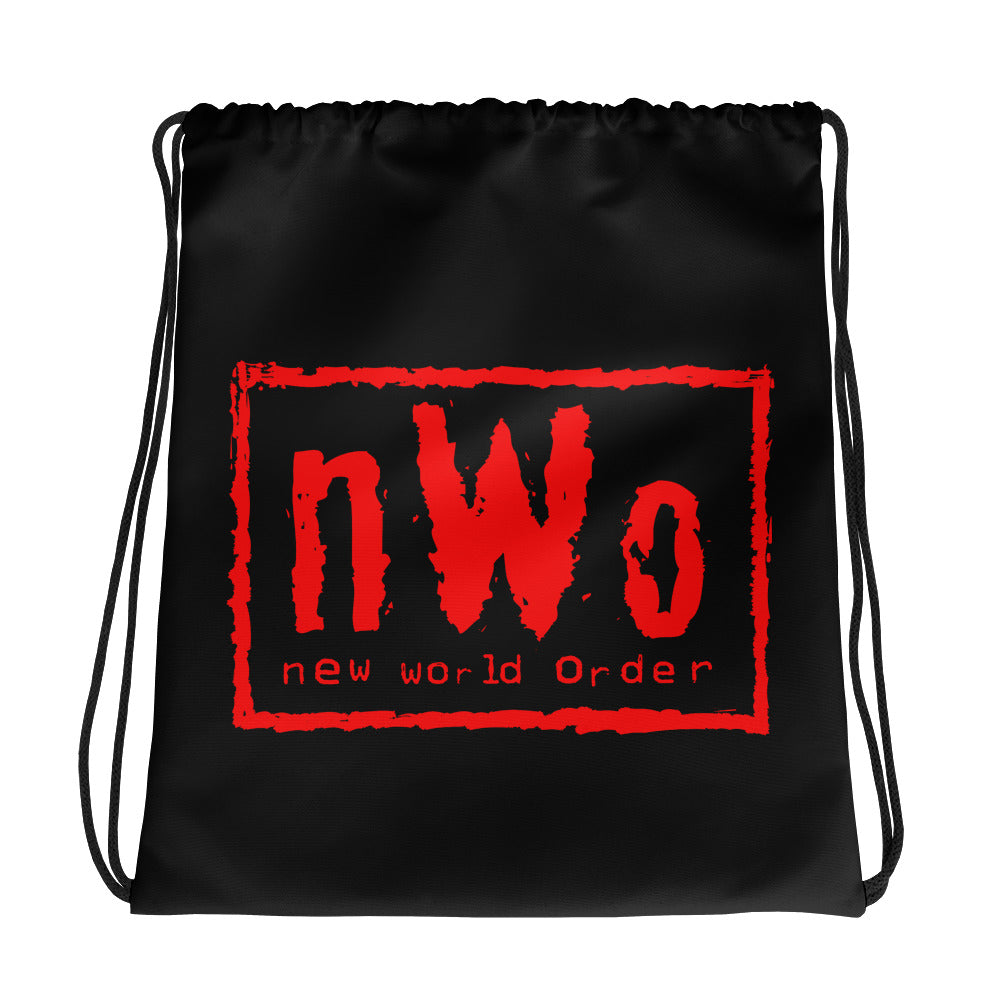 "nWo ""Black & Red"" Drawstring Bag"