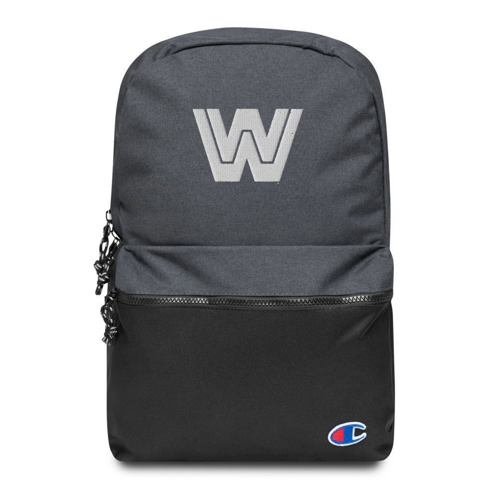 WWE Legends Logo Embroidered Champion Backpack