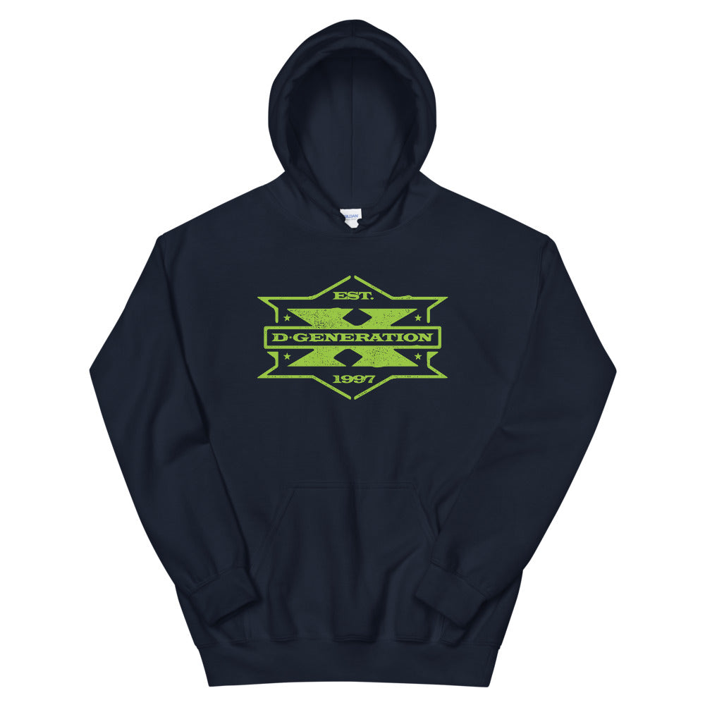 "D-Generation X ""1997 Badge"" Pullover Hoodie"