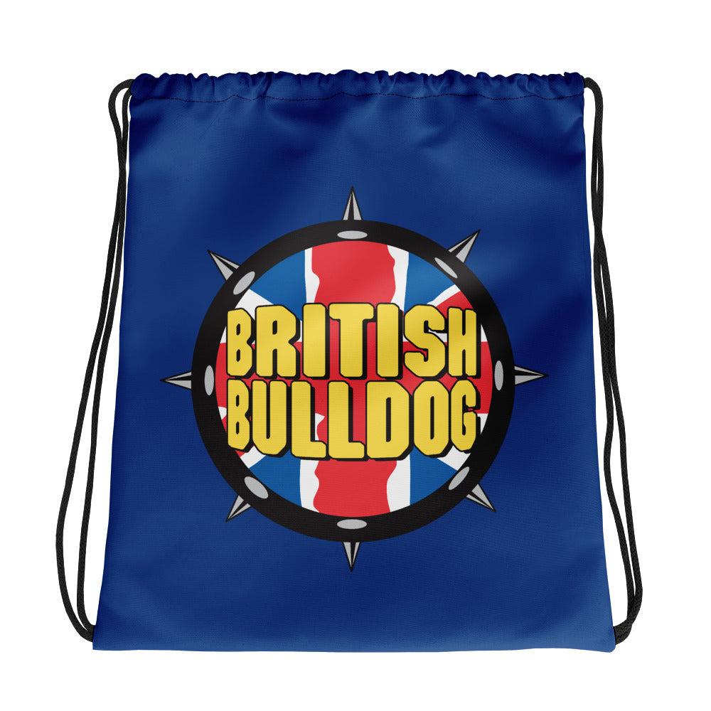 British Bulldog Drawstring Bag