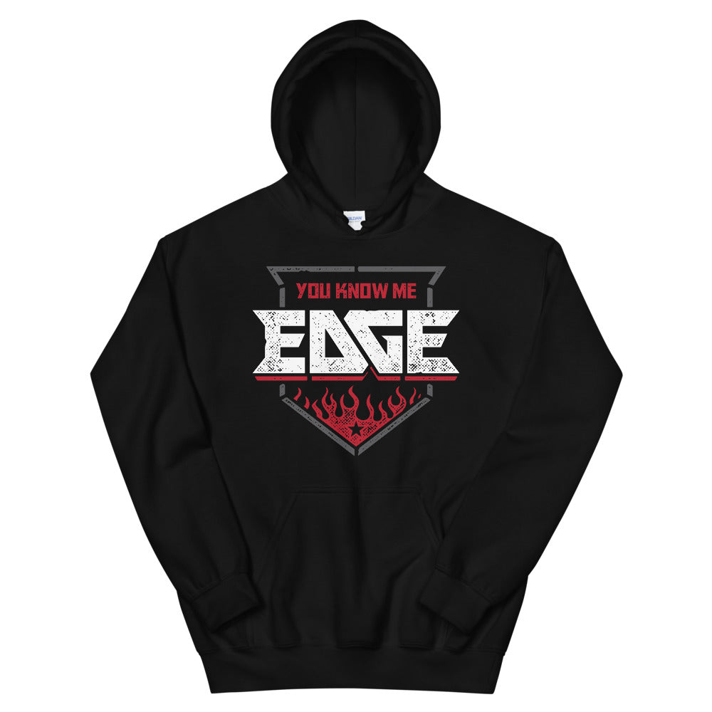 "Edge ""You Know Me Badge"" Pullover Hoodie"