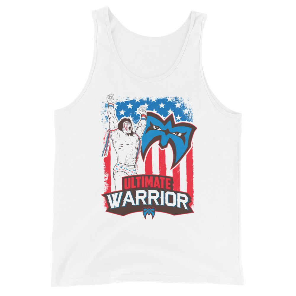 "Ultimate Warrior ""Americana"" Tank Top"