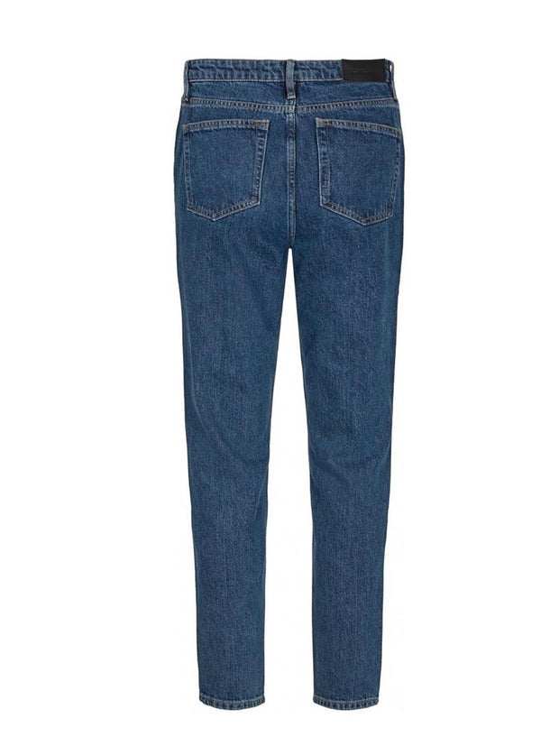 Hepburn HW Mom Wash Prato - Denim Blue