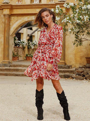 Ministry og Style The Label Romantic Legacy Mini Dress freeshipping - Nour Butikken