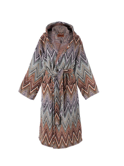 Missoni Home Yari Hooded Bathrobe freeshipping - Nour Butikken
