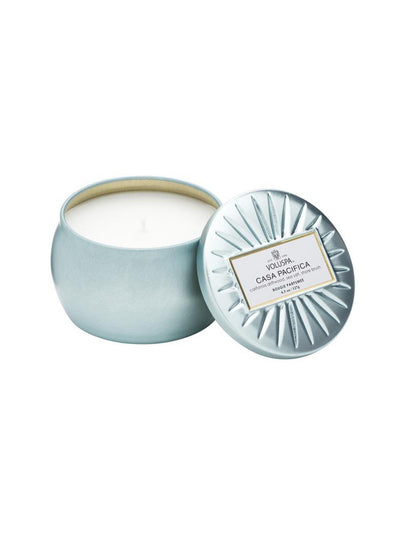Voluspa Petite Tin Candle - Casa Pacifica freeshipping - Nour Butikken