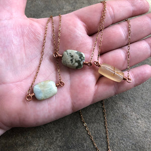 Jasper Moment Necklace