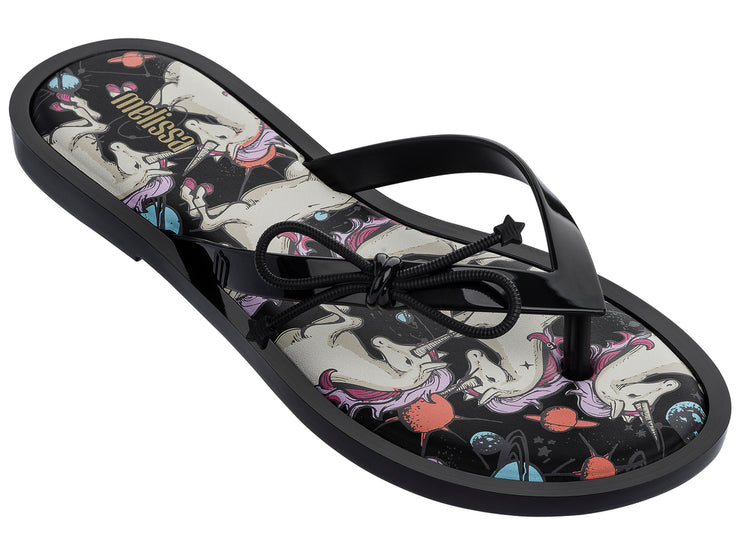Flip Flop Unicorn Black