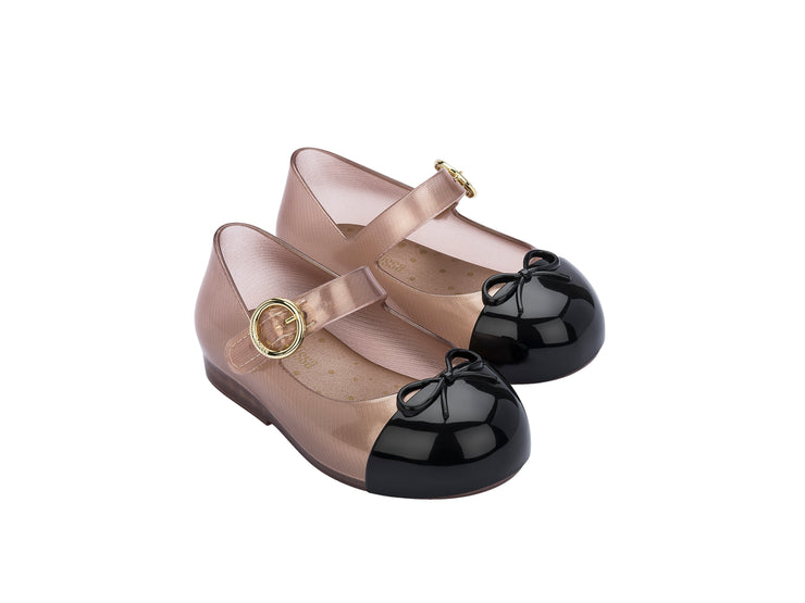 MM BABY Sweet Love Cap Toe Beige