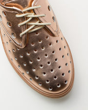 Derby Mid Sole Cork Punch Rose Gold