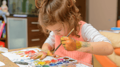 Painting with Children