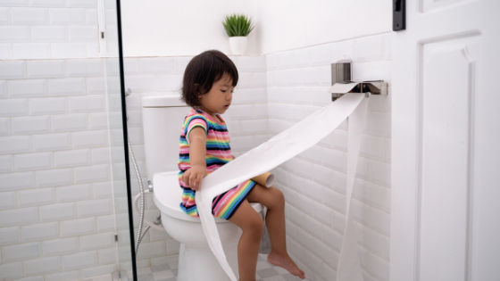 Why do toddlers resist potty training?