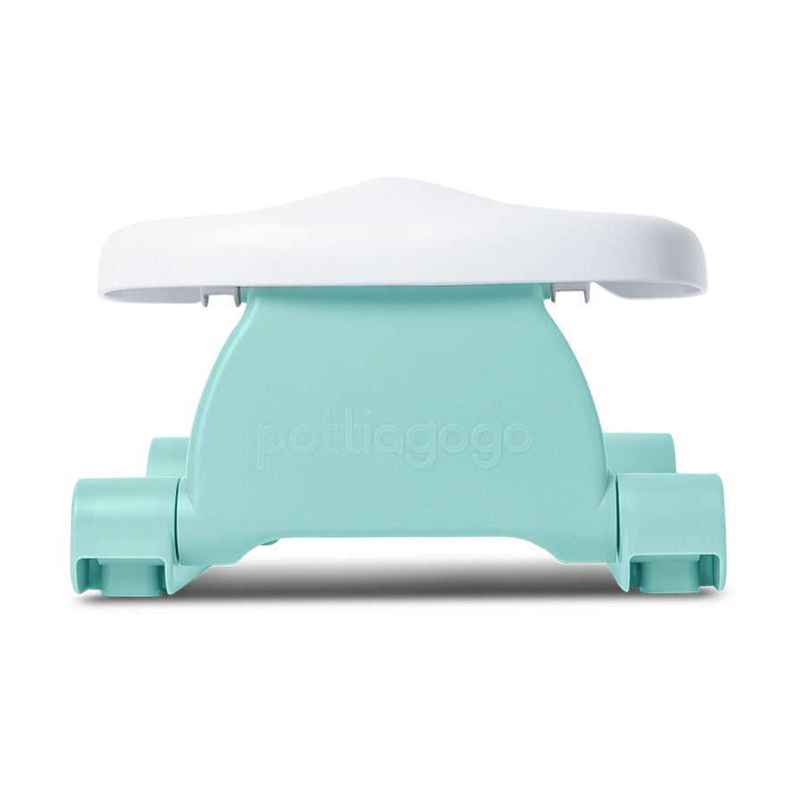 Folding travel potty - eggshell blue