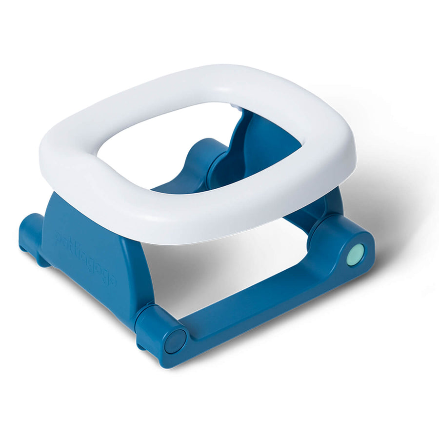 Space Blue Folding Travel Potty