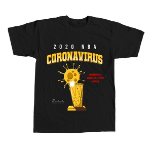 NBA Quarantine Tee - Black