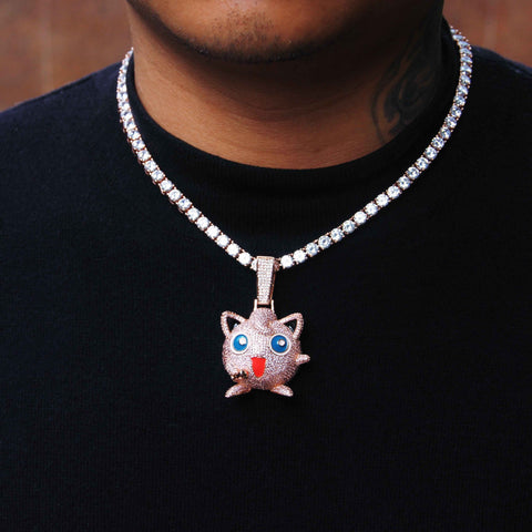 Pokemon Series Jigglypuff Pendant