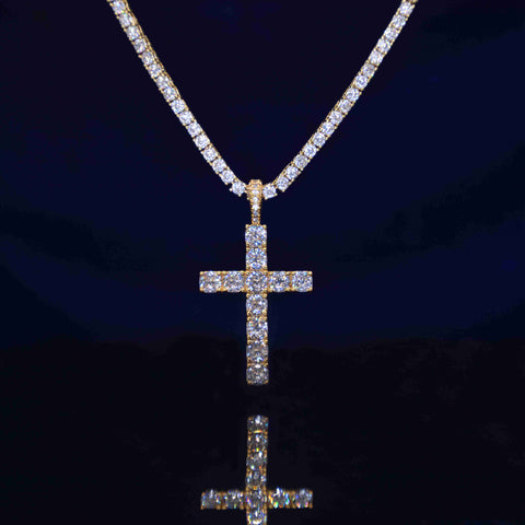 IcyWorld Diamond Cross (Gold)