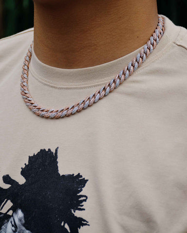 10MM New Cuban Chain (Two Colors)