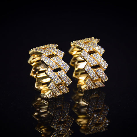 Diamond Cuban Ring (Gold)