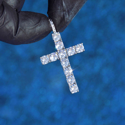 IcyWorld Diamond Cross (White Gold)