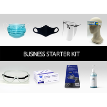 Load image into Gallery viewer, Business Starter PPE Kit: everything you need to operate your business. Ideal for small retail, dental, medical offices, etc.