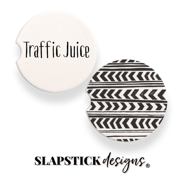 Traffic Juice Car Coasters