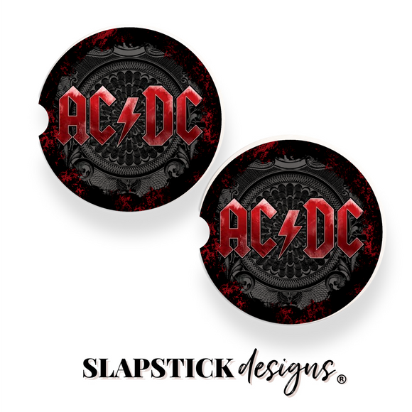 ACDC Car Coasters