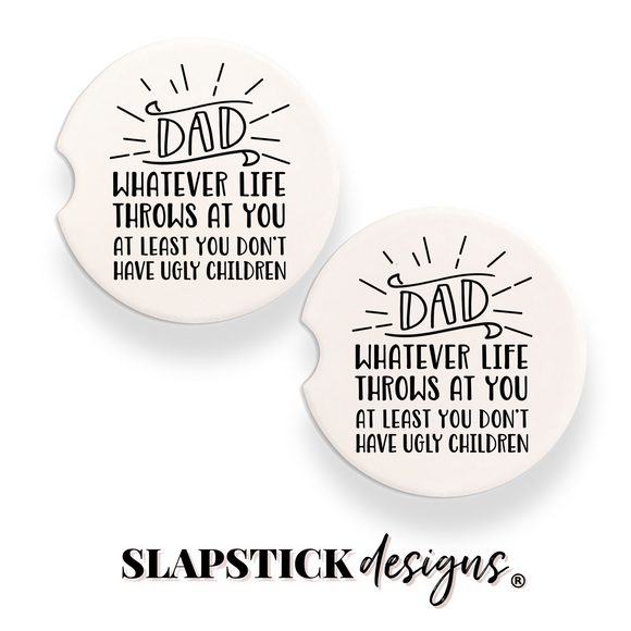 Dad Car Coasters