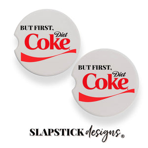 But first, Diet Coke Car Coaster