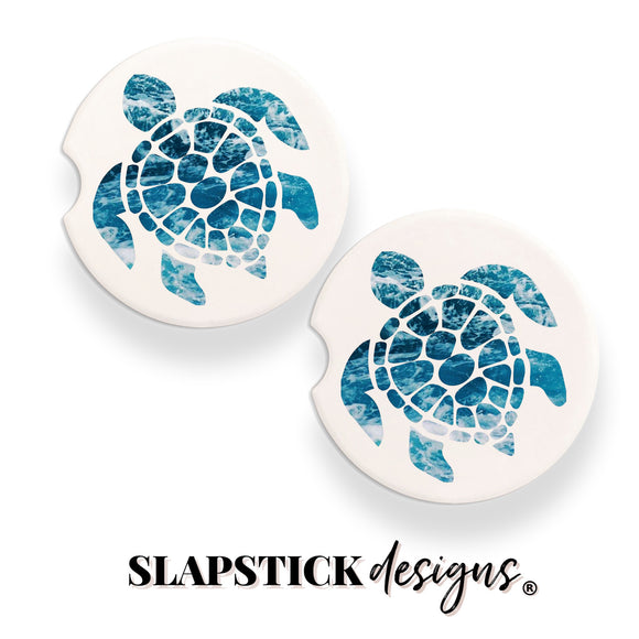 Sea Turtle Car Coasters