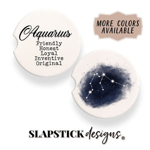 Aquarius Car Coasters Coaster