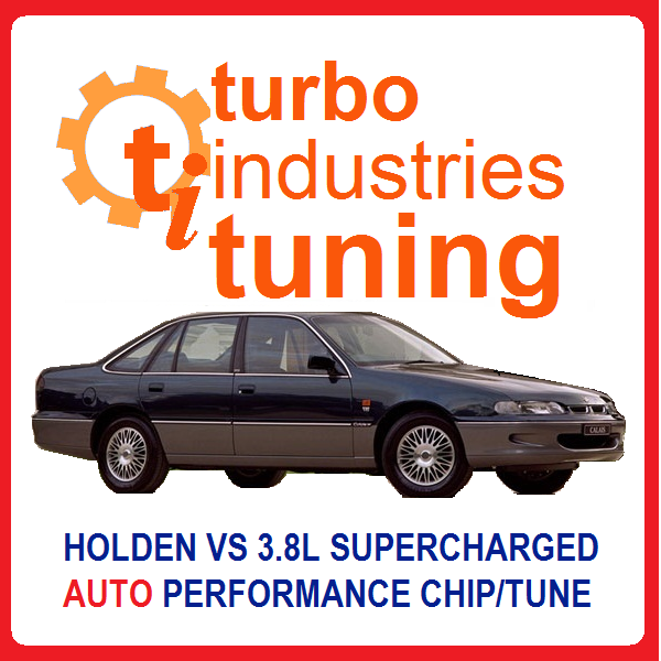 Holden VS Supercharged V6 Auto 190kw Chip XU6 Memcal Tune Commodore Calais
