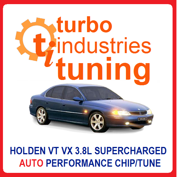 Holden VT VX Supercharged V6 Auto 190kw Chip XU6 Memcal Tune Commodore Calais