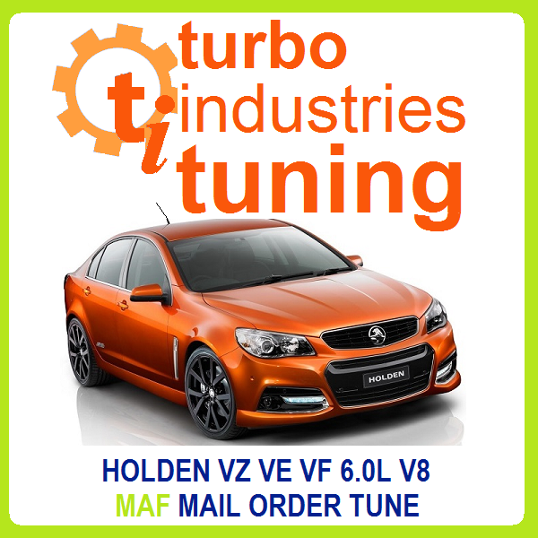 Holden VZ VE VF 6.0L V8 MAF Tune Gen IV 350KW L76 L98 L77 Commodore Calais