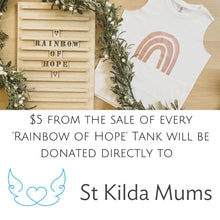 Load image into Gallery viewer, 'Rainbow of Hope' Kids Tank