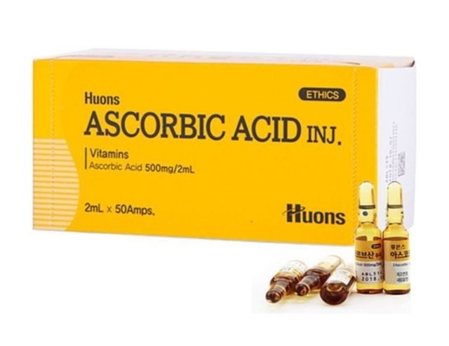 Asorbic Acid-Vitamin C(500mg/2mL) - NanoGlow Academy