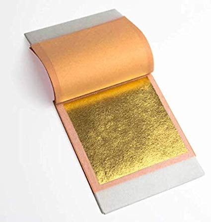 Gold Facial Sheets 24K Pure Gold - NanoGlow Academy
