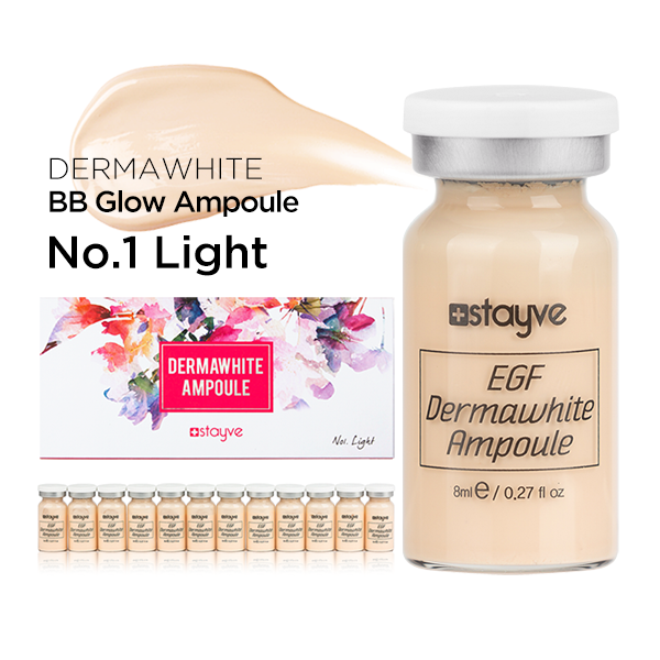 BB Glow Dermawhite No. 1 Light | Stayve - NanoGlow Academy