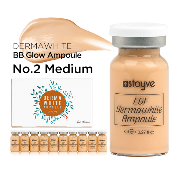 BB Glow Dermawhite No. 2 Medium | Stayve - NanoGlow Academy