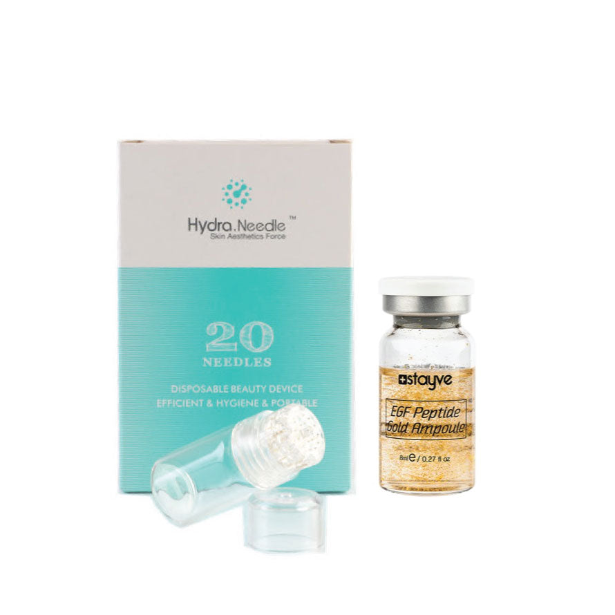 KIT: Hydra Stamp- 0.5/1mm with EGF Gold Serum | Stayve - NanoGlow Academy