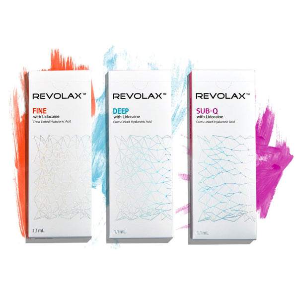 Revolax Filler Bundle Set - NanoGlow Academy